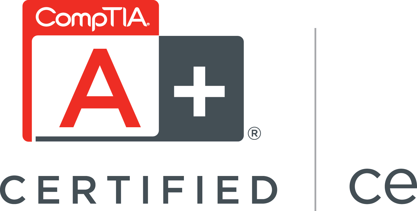 Comptia a certified logo computer repair wexford xflitez Choice Image